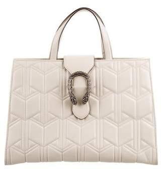 Gucci Dionysus Matelassé Top Handle Bag