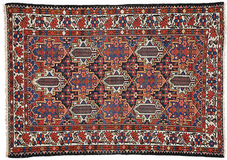 "One Kings Lane Vintage Antique Persian Rug - 4'7"" x 6'8"" - Esmaili Rugs & Antiques"