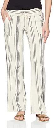 Roxy Junior's Oceanside Yarn Dye Beach Pant