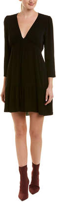 Ella Moss Ruched Sleeve Shift Dress