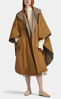 The Row Women's Maha Reversible Cotton & Cashmere Down Cape - Camel