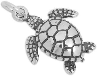 TheCharmWorks Sterling Silver Sea Turtle Charm