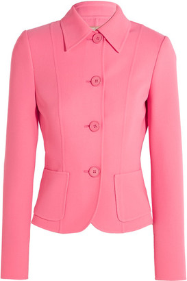 Michael Kors Collection - Stretch-wool Jacket - Pink $1,695 thestylecure.com