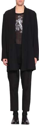 Ann Demeulemeester Wool And Viscose Coat