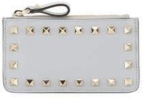 Valentino Rockstud Key-Chain Card Case