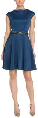 ABS by Allen Schwartz Blue Party Dress