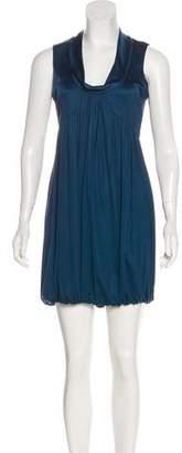 Laila Azhar Jersey Mini Dress