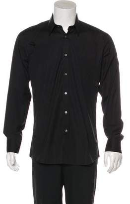 Alexander McQueen Long Sleeve Dress Shirt