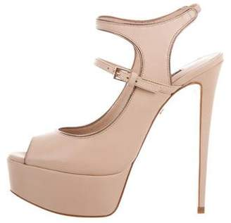 Ruthie Davis Slingback Platform Sandals w/ Tags