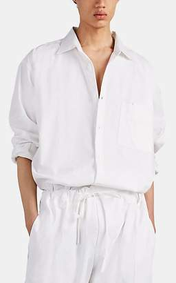 Jacquemus Men's Oversized Cotton Shirt - White