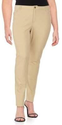 Lafayette 148 New York Curvy Slim-Leg Pant