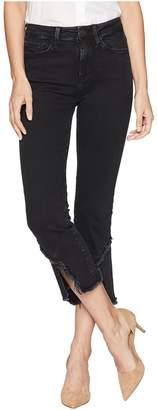 Mavi Jeans Anika Cropped Flare in Smoke Slit Hem Women's Jeans