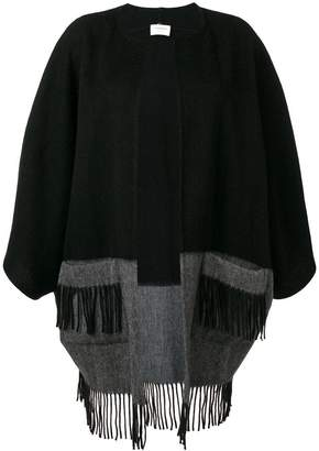 Snobby Sheep fringed bicolour coat