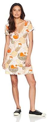 Obey Junior's Songbird Short Sleeve Babydoll Dress