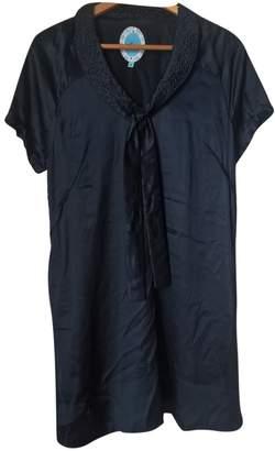 April May Blue Silk Dress for Women