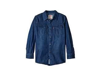 Levi's Kids Boys' Western Woven Shirt (Big Kids)