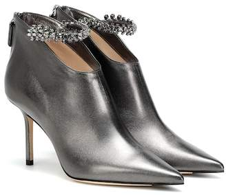 Jimmy Choo Blaize 85 leather ankle boots