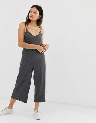 Gilly Hicks cosy lounge jumpsuit in rib