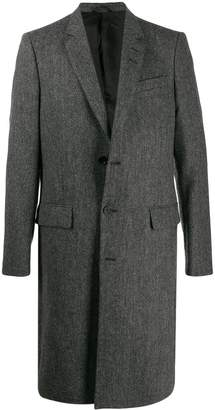 Tiger of Sweden boxy single-breasted coat