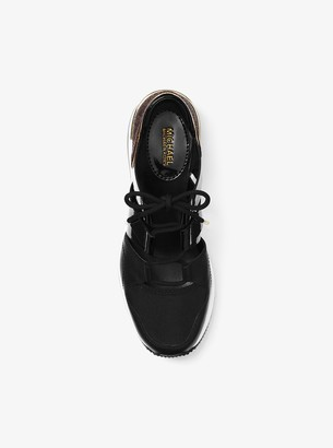MICHAEL Michael Kors Beckett Mixed-Media Sneaker