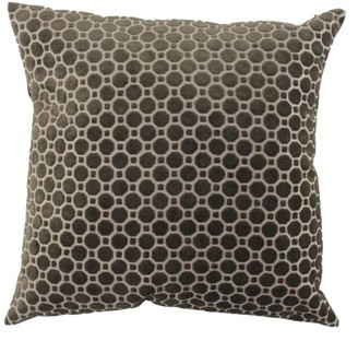 DecMode Decmode Modern 23 X 23 Inch Black Throw Pillow With Geometric Patterns