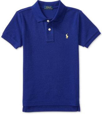 Ralph Lauren Mesh Polo Shirt, Toddler Boys (2T-4T) & Little Boys (2-7) $29.50 thestylecure.com