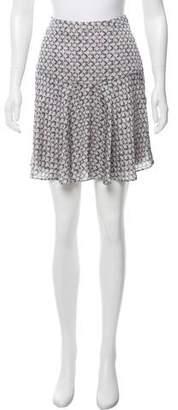 Reiss Printed Knee-Length Skirt