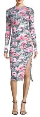 Fleur Du Mal Knit Long Sleeve Dress