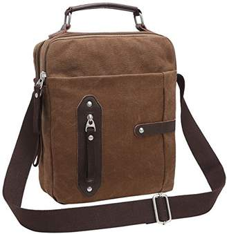 M.G. Unisex-Adult mu8192 Canvas Shoulder Messenger Bag Mu8192