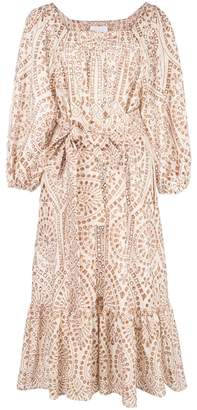 Lisa Marie Fernandez Laure natural eyelet dress