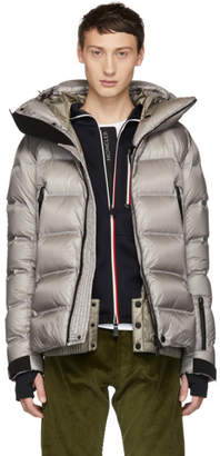 Moncler Grey Down Sestriertech Jacket