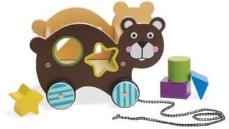 Manhattan Roll Along Bear Shape Sorter Toy