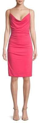 Nicole Miller Carly Cowlneck Dress