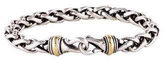David Yurman Two-Tone Wheat Chain Bracelet