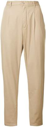 Carhartt high-waisted cropped trousers