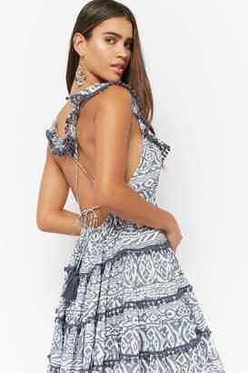 Forever 21 Boho Me Tie-Back Dress