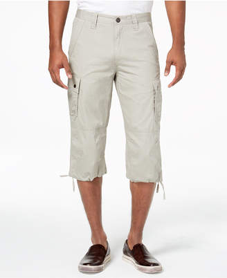 INC International Concepts I.N.C. Men's Extra Long Messenger Shorts, Created for Macy's
