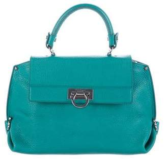 Salvatore Ferragamo Small Sofia Satchel
