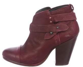 Rag & Bone Harrow Leather Ankle Boots