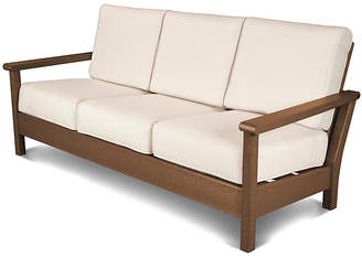 Polywood Harbour Deep-Seating Sofa - Beige