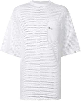 David Catalan oversized net T-shirt