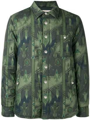 MAISON KITSUNÉ Dream Amplifier motifs shirt
