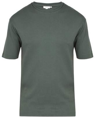 Sunspel Cavendish Cotton T Shirt - Mens - Green