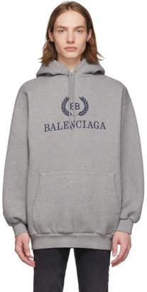 Balenciaga Grey Mode Hoodie