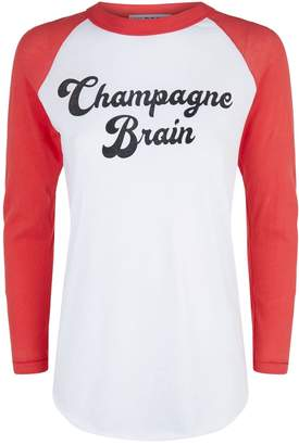 Wildfox Couture Champagne Brain T-Shirt