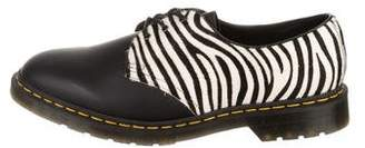 Dr. Martens Leather Round-Toe Derby Shoes w/ Tags