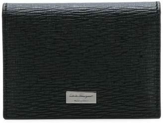 Salvatore Ferragamo foldover logo wallet
