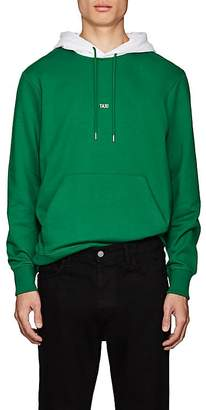 "Helmut Lang Men's ""Taxi"" Cotton Terry Hoodie"