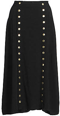 Marc Jacobs Women's The Button-Up Midi Skirt