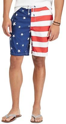 Polo Ralph Lauren Kailua Flag Board Shorts $75 thestylecure.com